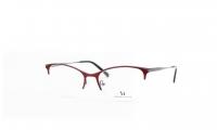 Massi MA 04.31 C3 Szemüvegkeret - Bordó, EzüstMéret - 54