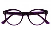 Owlet OWII 255/8 Szemüvegkeret - Fekete, Lila