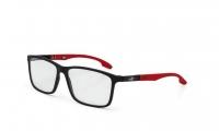 Mormaii Prana M6044 A85 55 Szemüvegkeret - Fekete, Piros