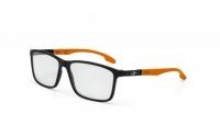 Mormaii Prana M6044 A96 55 Szemüvegkeret - Fekete, Narancs