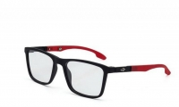 Mormaii Asana M6053 A85 52 Szemüvegkeret - Fekete, Piros