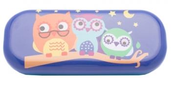 Gyerek szemüveg tok Metal Case Owl (189309)