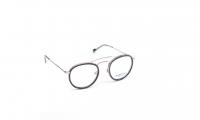 Scarlet Oak Holly Silvercloud Szemüvegkeret - Fekete, Ezüst