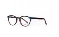 Massi MA 04.53 C6-5 Szemüvegkeret - Fekete, PirosMéret - 50