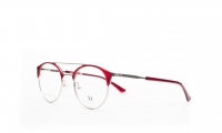 Massi MA 04.77 C3 Szemüvegkeret - Szín - piros, ezüstMéret - 48