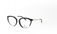 Massi MA 04.51 C3 Szemüvegkeret - Szín - fekete, aranyMéret - 53